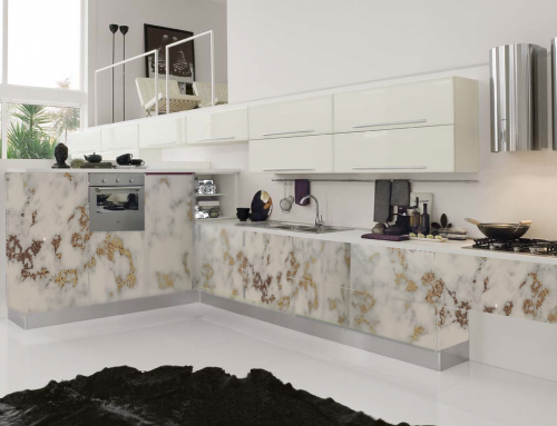 Beyond the limit ..Digital Printed  Kitchen Finishes